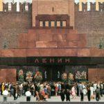 Мавзолей: дань уважения Ленину