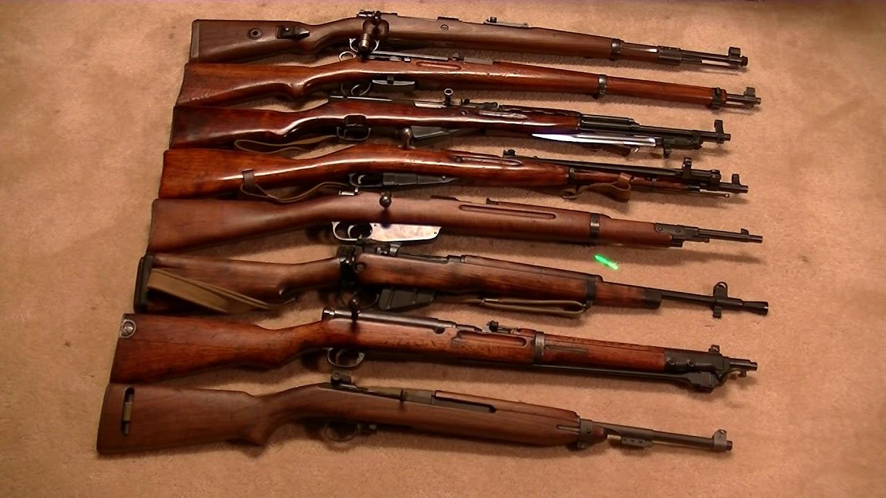 винтовки Второй мировой