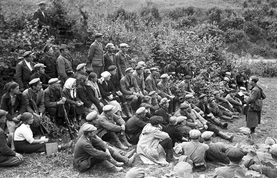встреча советских войск