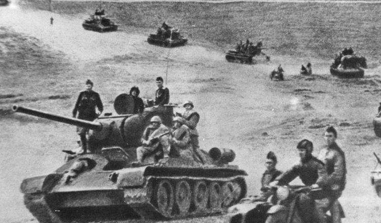 продвижение советских войск