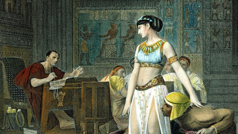 клеопатра vii и юлий цезарь