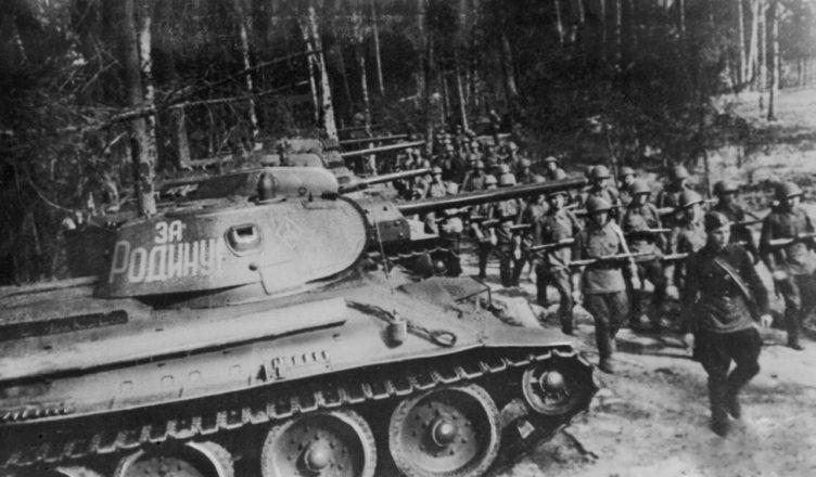 Т-34 в строю ВОВ