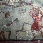 В древнеримской гробнице найдены рисунки, напоминающие комиксы