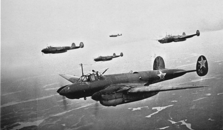 советские бомбардировщики