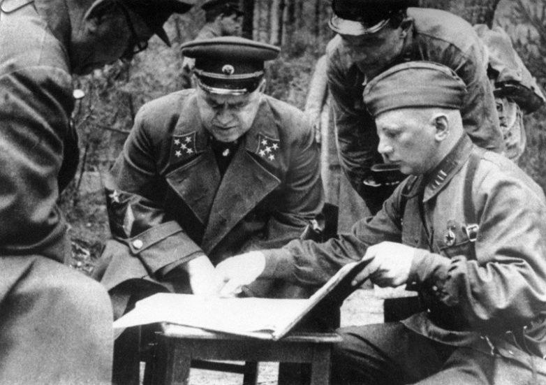 совещание командиров вов