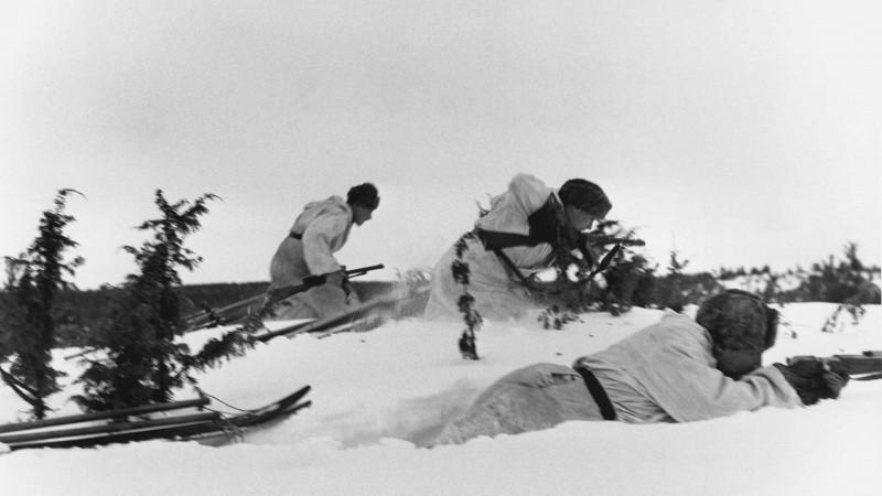 лыжники вов
