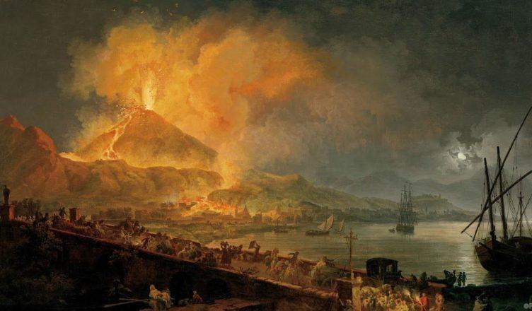Надпись на стене указала точную дату извержения Везувия
