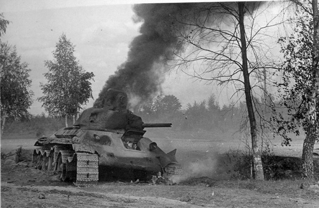 подбитый танк вов