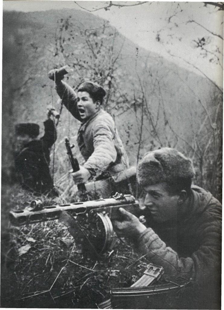 партизаны вов