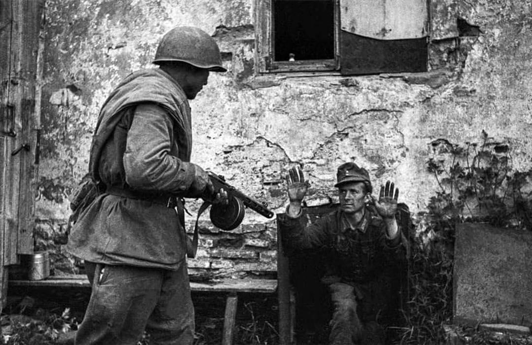 пленный немец