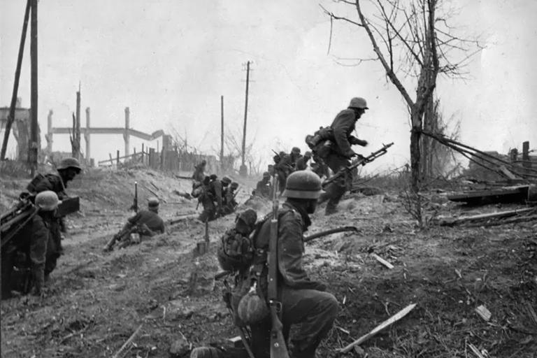 немцы наступают вов