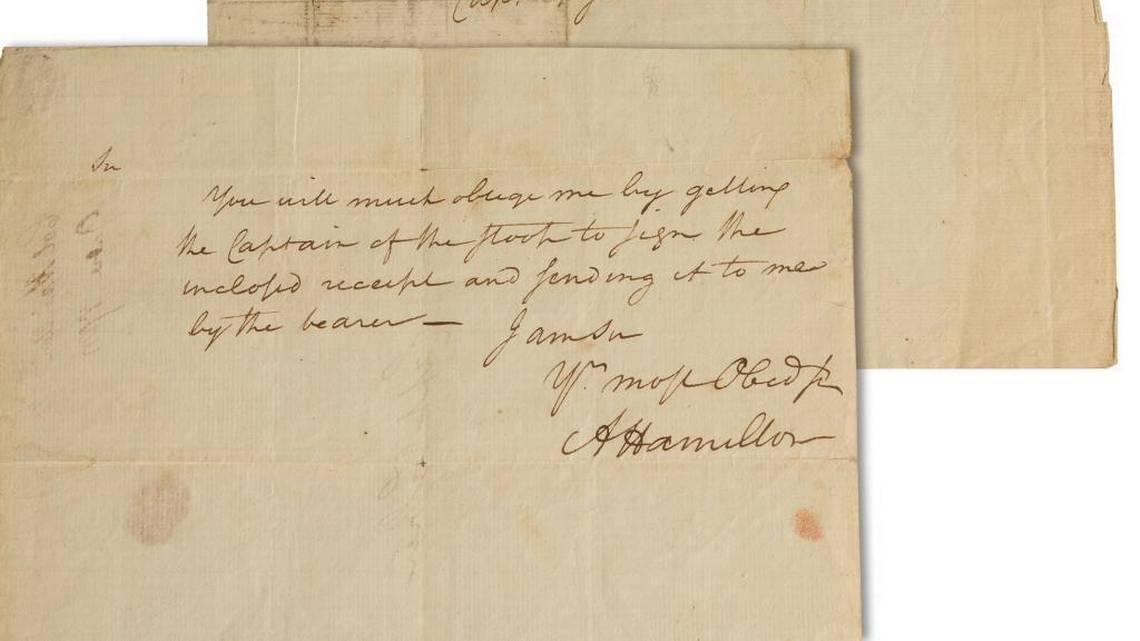 Письмо Гамильтона