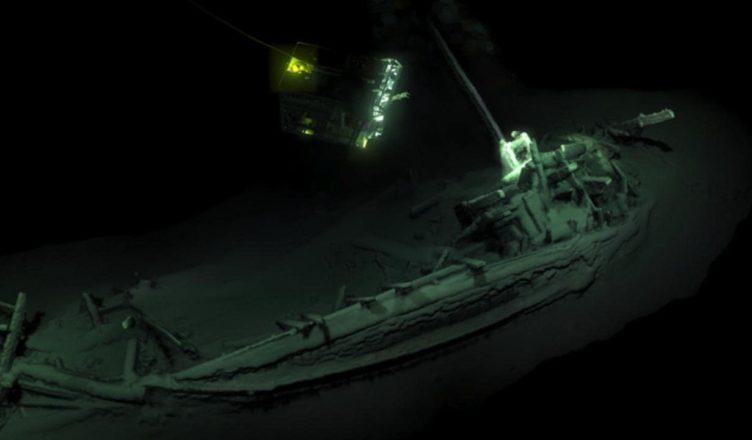 древнегреческое судно