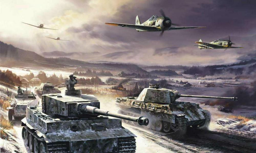 атака немцев вов