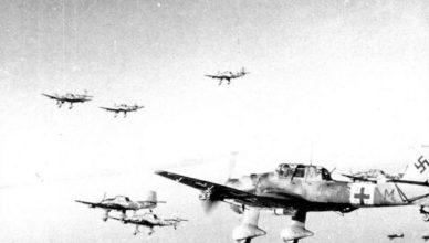немецкие бомбардировщики вов