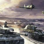 атака немцев