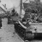 колонны советских войск вов