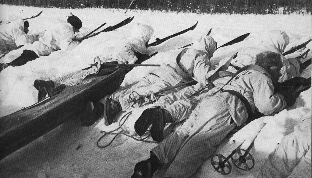 Финские солдаты