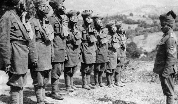Индия во время первой мировой