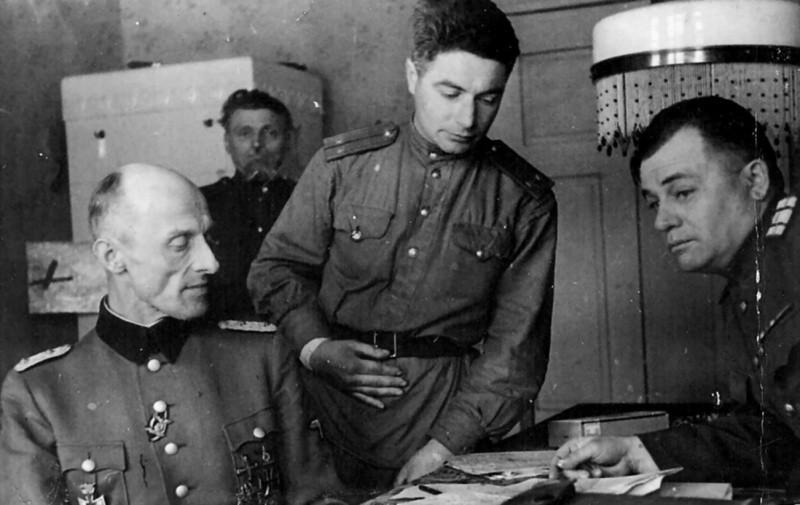 допрос немца вов