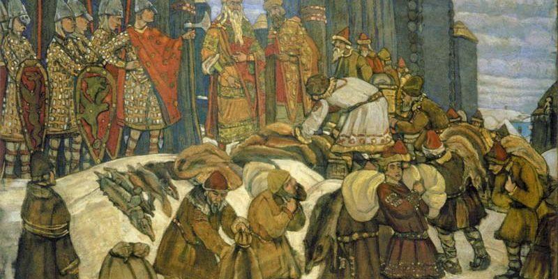 Налоги в Древней Руси
