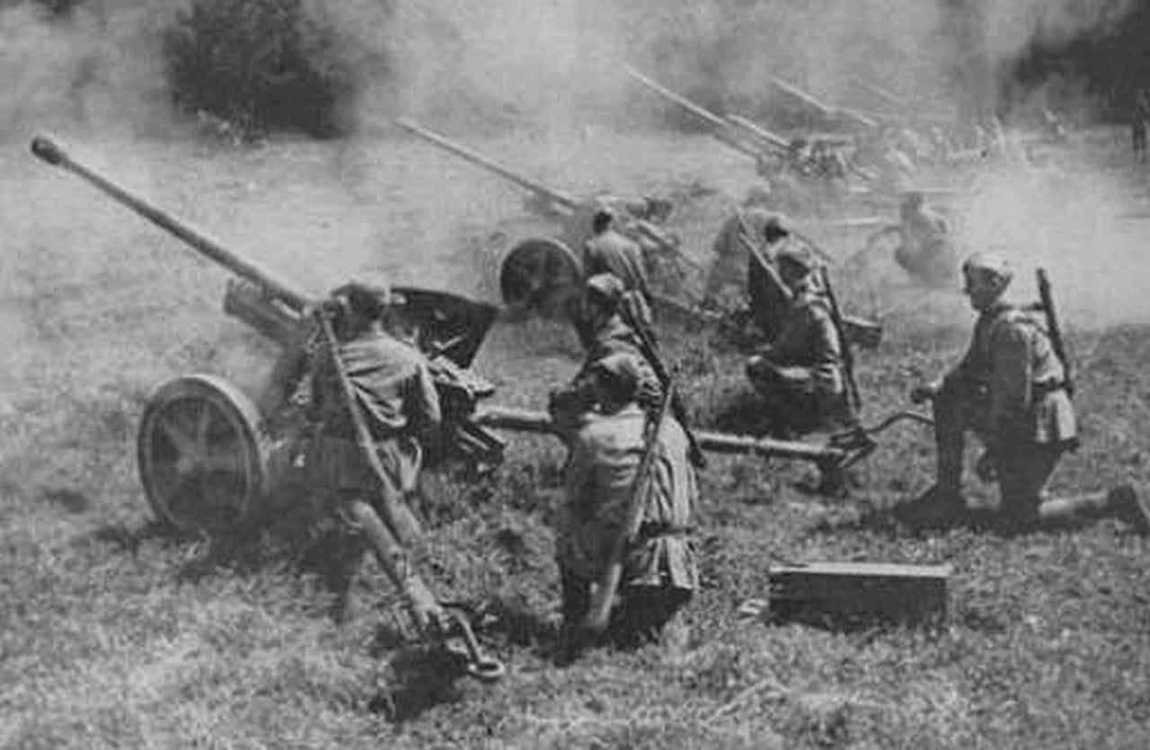 противотанковые орудия вов