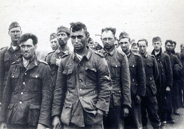 пленные немцы вов
