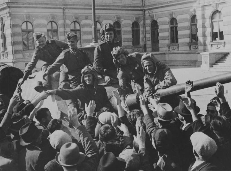 советские освободители