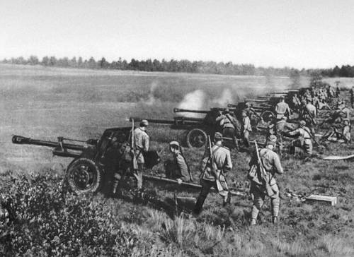 противотанковые пушки вов
