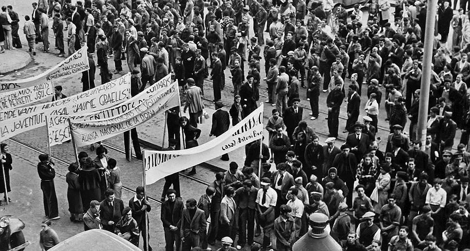 революция в Испании
