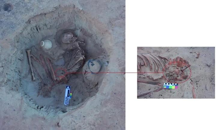 Скелет женщины, погибшей 3700 лет назад, обнаружен в Египте