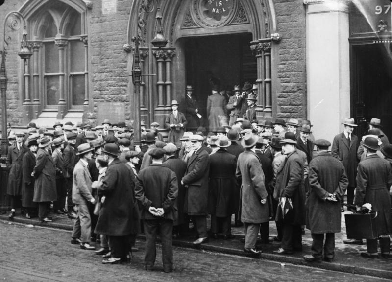 Англия в 1933 году