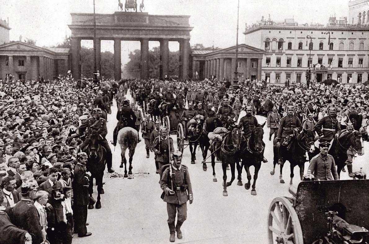 германия в 1914
