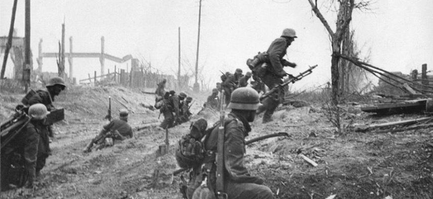 немцы атакуют вов