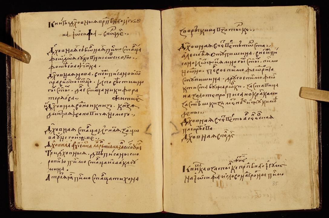 Вкладные и записные книги Волоколамского монастыря XVI века