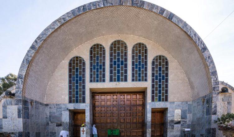 Ковчег Завета в церкви Марии Сионской - подделка