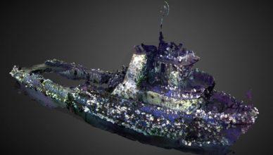 Эта 3D модель воскресила корабль, затонувший десятилетия назад