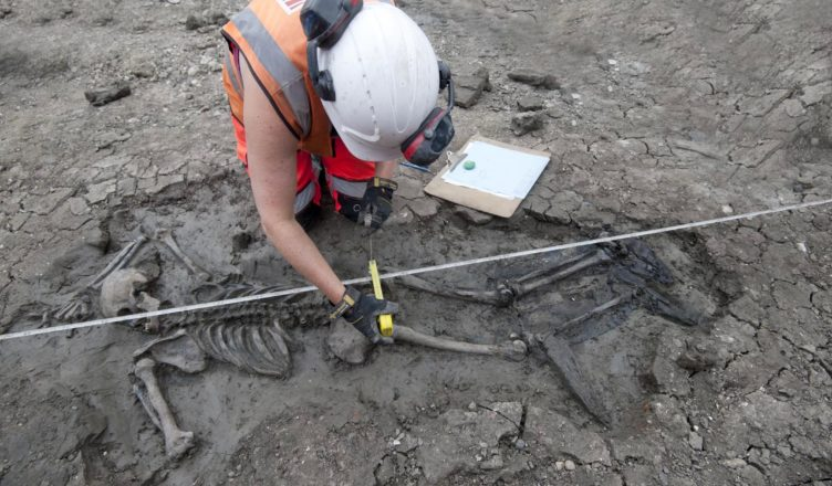 В лондонской канализации найдено тело мужчины, возрастом 500 лет