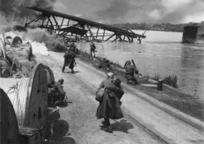 Переправа через Одер 1945