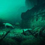 Плато, на котором некогда были плодородные земли, теперь находится под водой