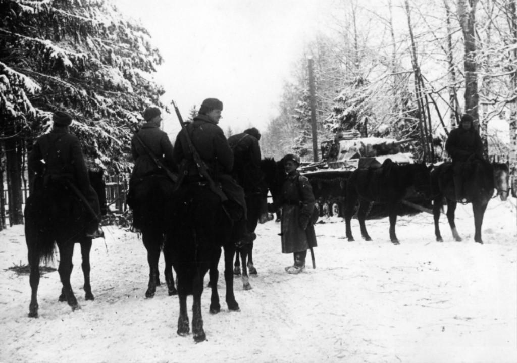 кавалеристы вов