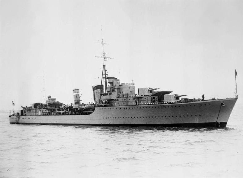 HMS Somali.