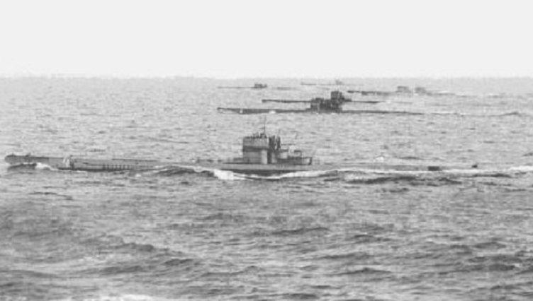 Волчья стая подводные лодки