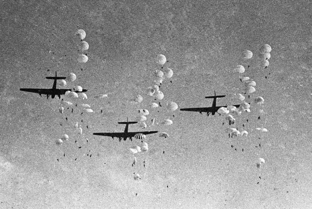 Воздушный десант ВОВ