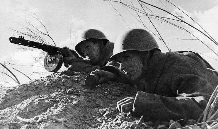 бойцы красной армии