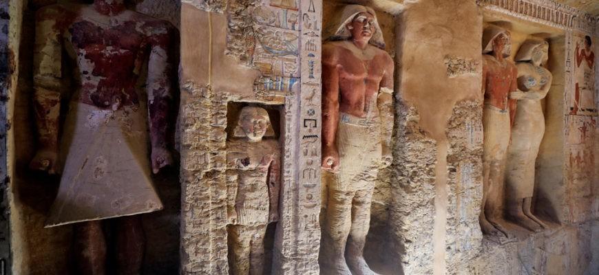 В Египте обнаружена гробница, возраст которой составляет 4400 лет
