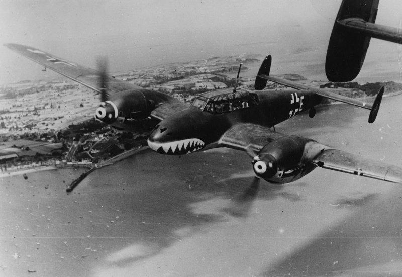 немецкий самолет вов