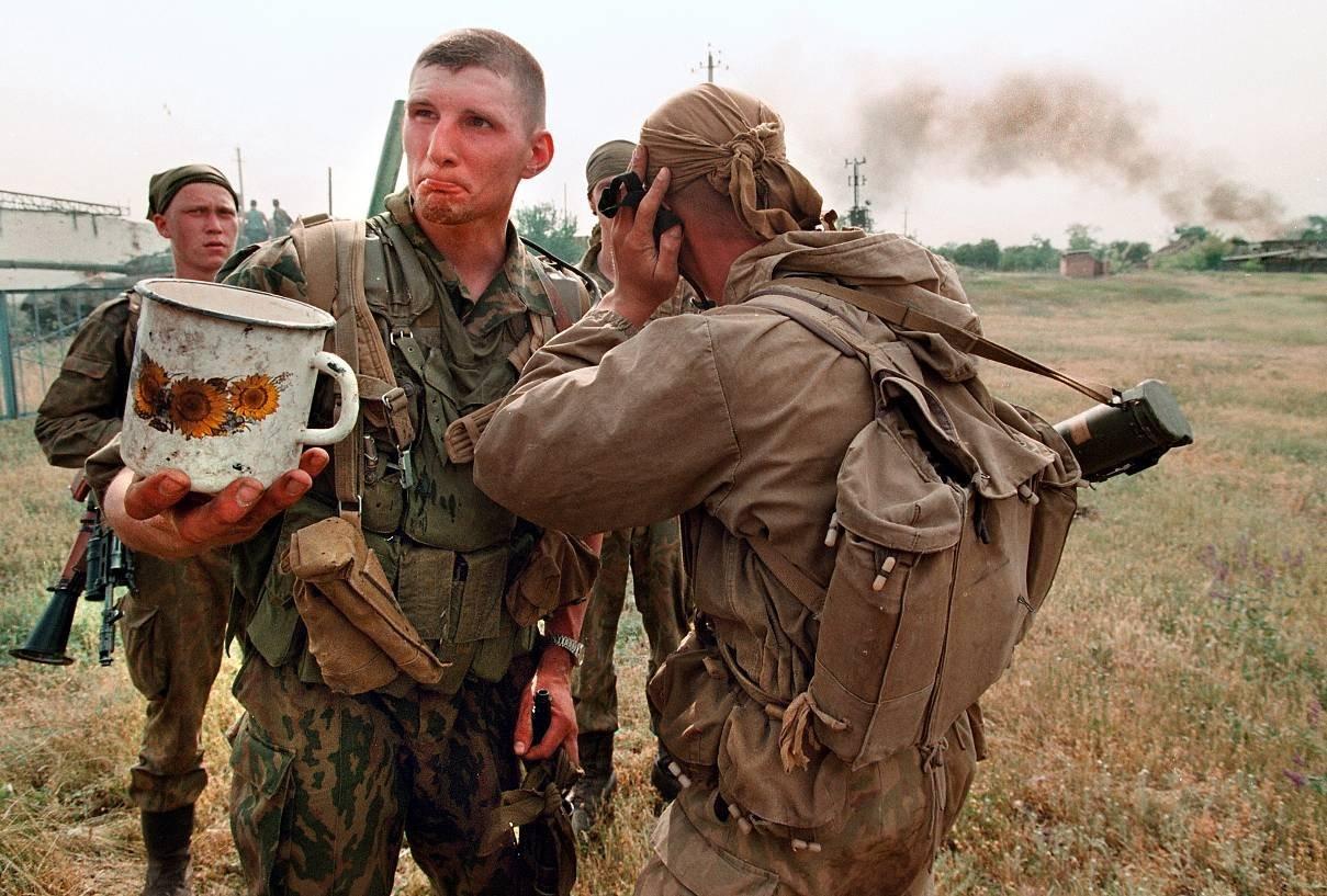 О чем думали участники Чеченской войны