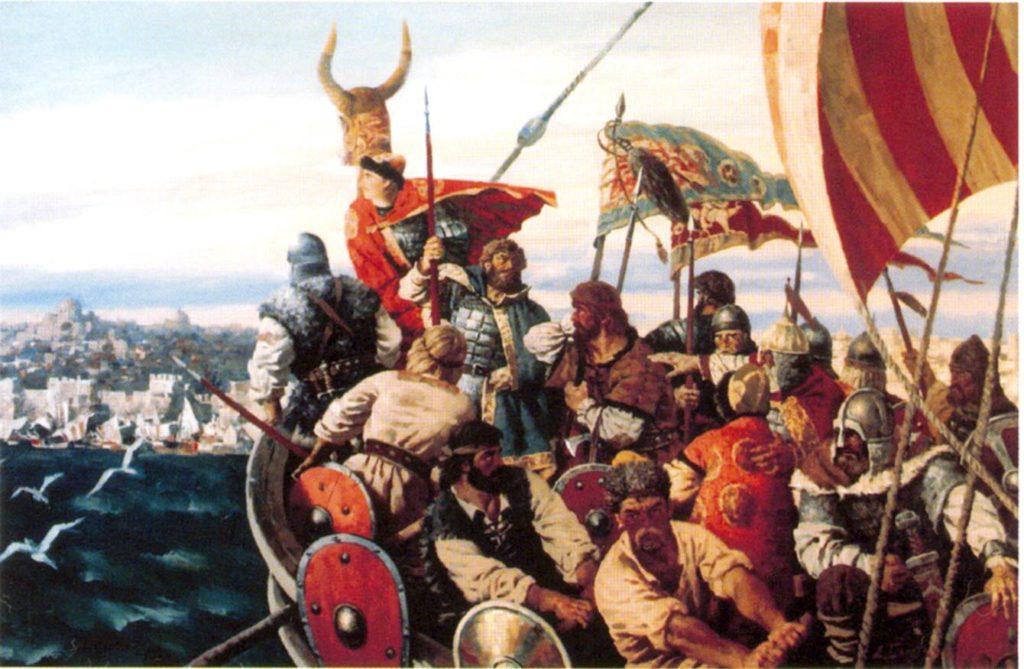 Поход киевского князя Игоря на Византию в 941 г.