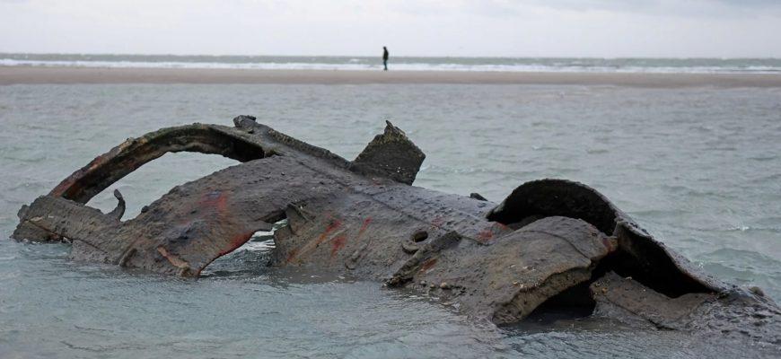 Немецкая субмарина времен Первой мировой была обнаружена у берегов Франции